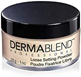 Dermablend Loose Setting Powder, Cool Beige Face Powder & Finishing Powder Makeup for Light, Medium and Tan Skin Tones, Mattifying Finish and Shine Control, 1oz