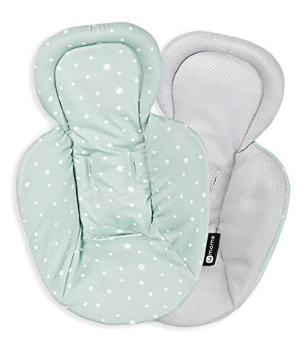 4moms Neugeboreneneinsatz für Babyschaukel , Babywippe , mamaRoo , bounceRoo , rockaRoo , beidseitig bedruckt , cool mesh