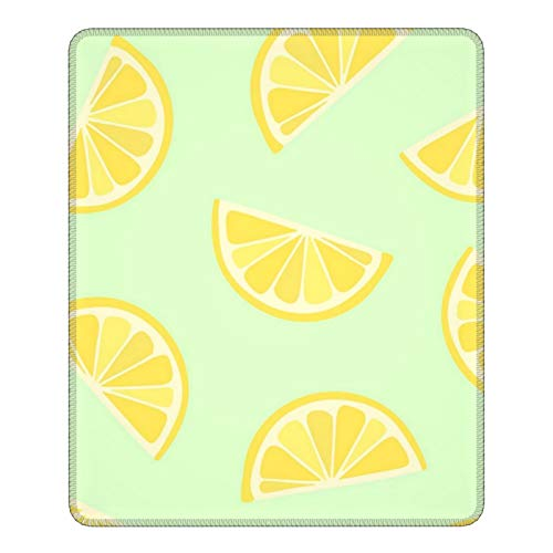 Yellow Lemons Mouse Pad No-Slip Durable Gaming Mouse Mat Base for Office Computer Laptop