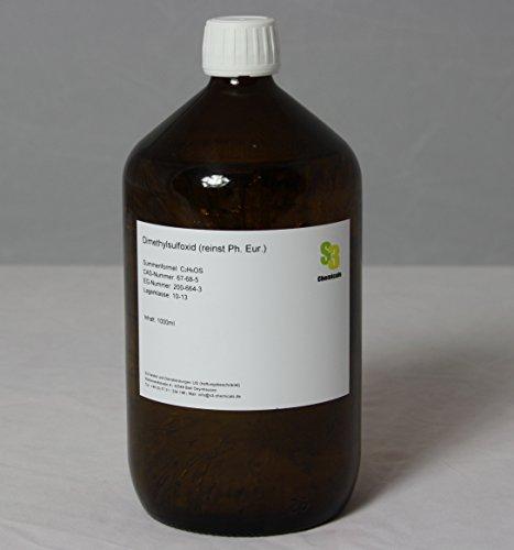 S3 Chemicals Dimethylsulfoxid (Ph. Eur.) Gebindegröße 500 ml