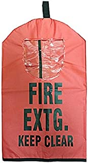 Fire Extinguisher Cover With Window (Medium - 25