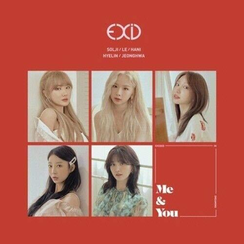 EXID - [We] Mini Album CD+80p Hard Cover PhotoBook+1p PhotoStand+1p PhotoCard+Tracking K-POP Sealed Me&You