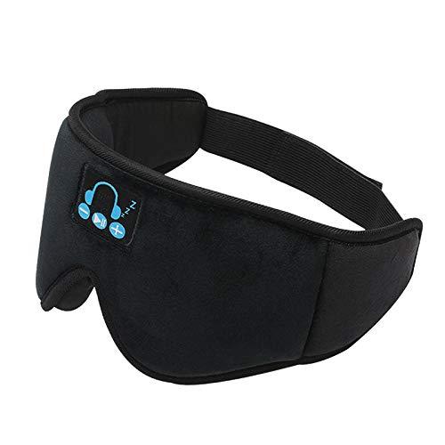 dailymall Sleep Headphones Wireless, Bluetooth Sports Headband Headphones Altavoces Estéreo HD para Dormir, Hacer Ejercicio, Trotar, Yoga - Negro
