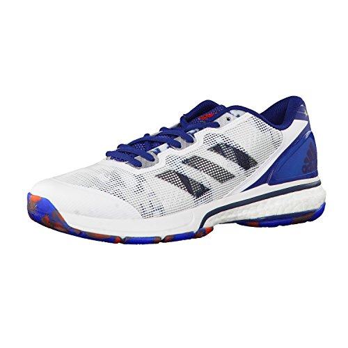 adidas Herren Handballschuhe stabil boost 20Y ftwr white/utility black f16/mystery blue s17 41 1/3