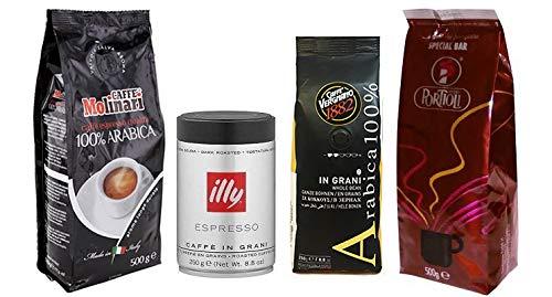 Elite Selection: Exklusives Espresso Probierset / Geschenkset, ganze Bohne, 1500 g