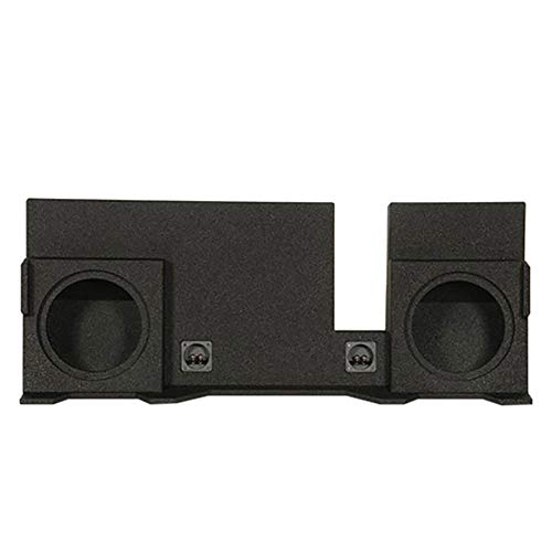 """Q Power QBFORD04210 Dual 10"""" Ported Enclosure for 2004-2008 Ford F-150 Super Crew and Ext Cab Trucks with Spray Finish"""