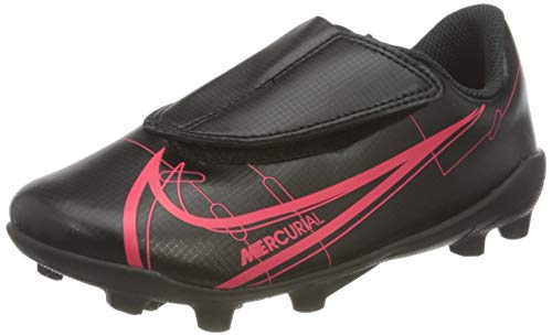 Nike JR Vapor 14 Club MG PS (V), Zapatillas de ftbol, Black Black Cyber Siren Red, 31 EU