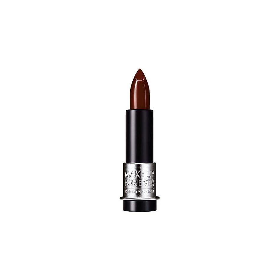 後世アーネストシャクルトン中国[MAKE UP FOR EVER] 黒赤 - これまでアーティストルージュクリーム口紅3.5グラムのC407を補います - MAKE UP FOR EVER Artist Rouge Creme Lipstick 3.5g C407 - Black Red [並行輸入品]