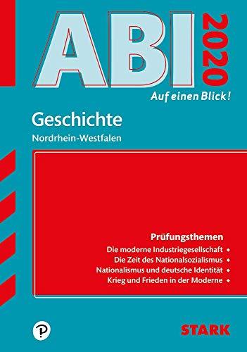 STARK Abi - auf einen Blick! Geschichte NRW 2020