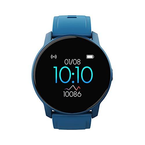 LGDD Reloj Inteligente W9 para Hombres Y Mujeres Contador de Calorías del Podómetro del Monitor del Ritmo Cardíaco Reloj Deportivo Bluetooth Impermeable IP67 con Pantalla HD de 1 3