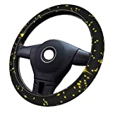 Spotlight 3D pattern 2 1 steering wheel cover car universal kit, suitable for most cars