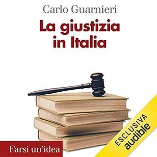 La giustizia in Italia copertina