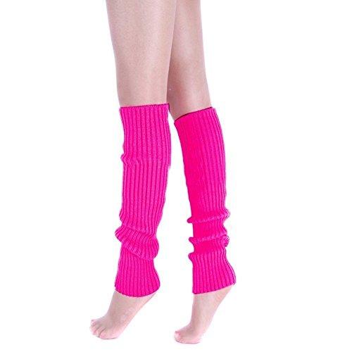 Fletion Femmes Lady Fashion Knee High Leg hiver laine tricotée genou Cuissardes Chaussettes Leg Warmer Meilleur cadeau de Noël