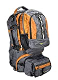 Acecamp 3 in 1 Backpack, Detachable Daypack, Waistpack & Duffle Bag, Heavy Duty Adventure Pack, Travel Bag with Extra Organizers and Pockets, Adjustable Torso Length with Locking Zippers