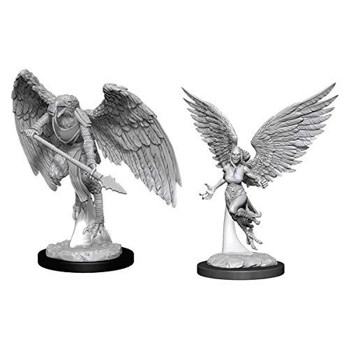 WizKids D&D Nolzurs Marvelous Upainted Miniatures: Wave 11: Harpy & Arakocra