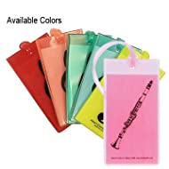Gift House Id & Music Bag Tag - Clarinet (Asst. Colors Available)