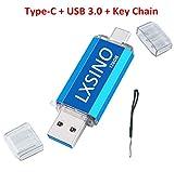 Chiavetta USB 3.0 da 128 GB USB C Stick 2 in 1 Flash Drive OTG Stick Type C Memory Stick per smartphone di tipo C, Samsung Galaxy S10, S9, S8, Note9, Google Pixel 3, MacBook Pro