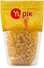 Yupik Sulfite Free Dried Fruits, Diced Pineapple, 2.2lb