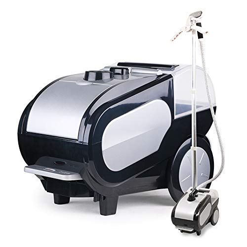 Check Out This Steamer for Clothes, 1500W High-Power Multi-Angle Ironing Fabric Steamer, Foot Switch...