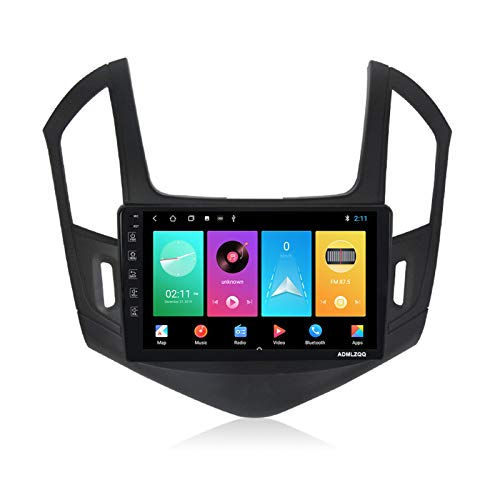 ADMLZQQ para Chevrolet Cruze 2012-2015 Android 9.0 Radio Coche Estéreo Navegación GPS, Pantalla Táctil De 9 Pulgadas, FM/WiFi/Bluetooth/Cámara Trasera/Control del Volante,M150 2g+32g