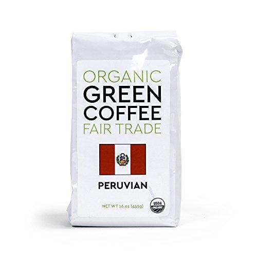 Peace Coffee Fair Trade Certified Organic Green Unroasted Coffee Beans (Peruvian Fair Trade Organic)