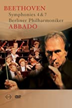 Beethoven - Symphonies 4 and 7 / Claudio Abbado, Berlin Philharmonic