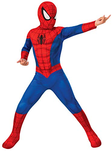 Rubies- Disfraz Spiderman Classic Inf, Color Red/Blue, L (702072-L)
