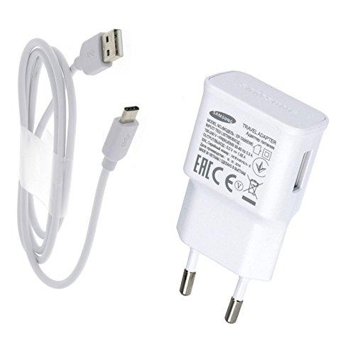 Samsung Acce2s - Chargeur Rapide USB Original 1,5A + Câble USB-C pour Sony Xperia XZ Premium - Xperia XA1 Ultra - Xperia XA1