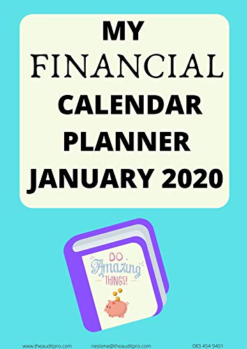 The Audit Pro's Financial Calendar & Planner January 2020 South Africa (FINPLAN Book 1) (English Edition)
