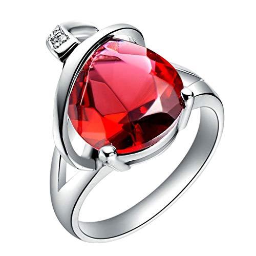 KnSam Bandringe Silber Silber Ring Männer Kupfer Versilber Linien Oval Silber Ring Valentinstag Gedenkenstag Geschenk
