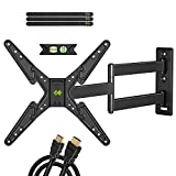 USX MOUNT Full Motion TV Wall Mount Fits for Most 26-55 Inch TVs 24' Extension...