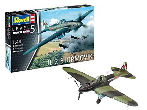 Revell IL-2 Stormovik, Kit de Modelo, Escala 1: 48 (3932) (03932)