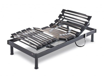 Flex - Somiflex Articulado A6-150X200, Color Negro/Beige