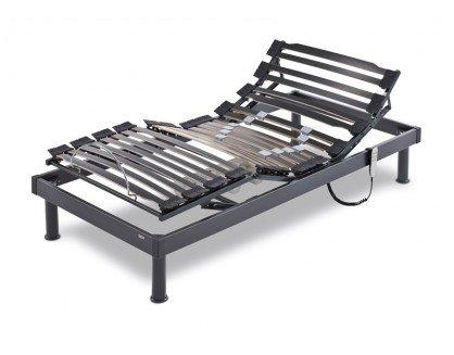 Flex - Somiflex Articulado A6-150X190, Color Negro/Beige