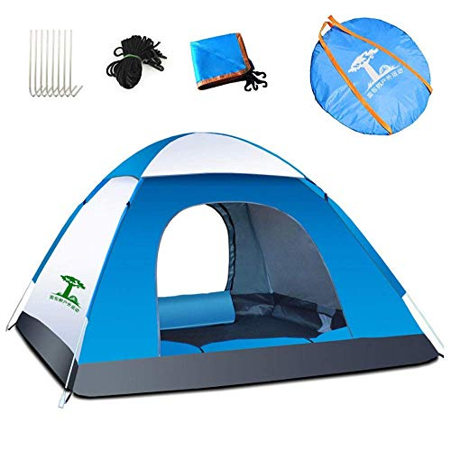 Outdoor camping tent Men's camping tent 2 - Water-resistant backpacking tent lightweight and easy-to-assemble camping tent - For summer dome tent