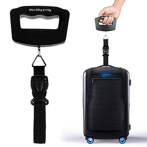 LIYC Escala electrónica de Cocina Teniendo 50kg de Equipaje Digital portátil balanza de precisión Viaje Escala electrónica, Adecuado for diversas escenas