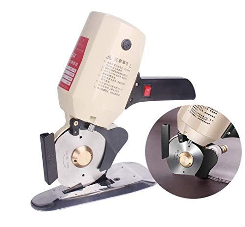 Tragbare multifunktionale Schere Eletric Runde Scissor Tragbare Stoff Messer Cordless Modeschöpfern Schneidemaschine for Stoff-Leder-Teppich C-110, Größe Name: C-110 Leistungsstarke, einfaches Trimmen