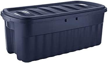 Rubbermaid 50 Gallon Roughneck️ Storage Tote Durable, Reusable, Plastic Storage Bin