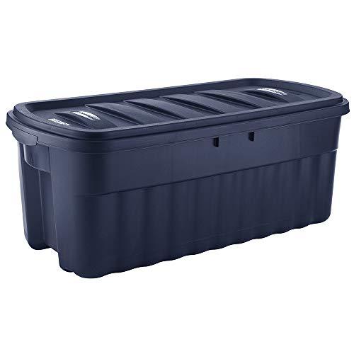 Rubbermaid 50 Gallon Roughneck️ Storage Tote Durable Reusable Plastic Storage Bin