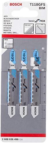 Bosch 2 608 636 498 - Hoja de sierra de calar T...