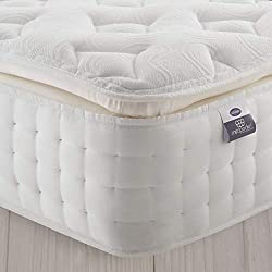 LUXURY COMFORT & DURABILITY | Double layer of individual pocket springs offer perfect head to toe support and unparalleled comfort RESPONSIVE MEMORY FOAM | Layers mould to your body for cocooning comfort & pressure relief SUPERIOR PILLOWTOP | Respond...