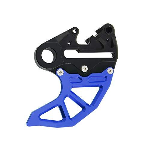 Gzcfesbn Guardia del Disco de Freno Trasero de la Motocicleta Protector for Cubrir Husaberg Husqvarna TE TC FE FC 350 390 300 250 450 501 570 Durable (Color : Blue and Black)