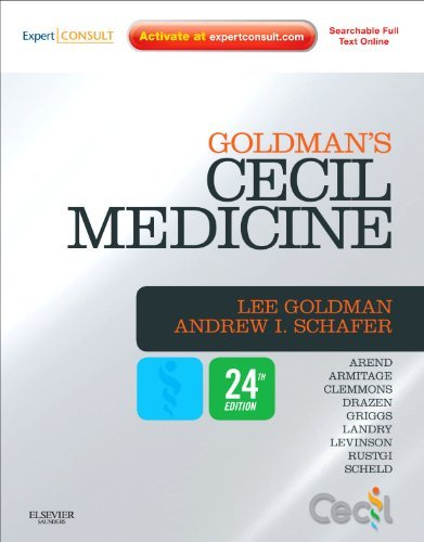 By Lee Goldman - Goldman's Cecil Medicine: Expert Consult Premium Edition -- Enhanced Online Features and Print, Single Volume: 24th (fourth) Edition
