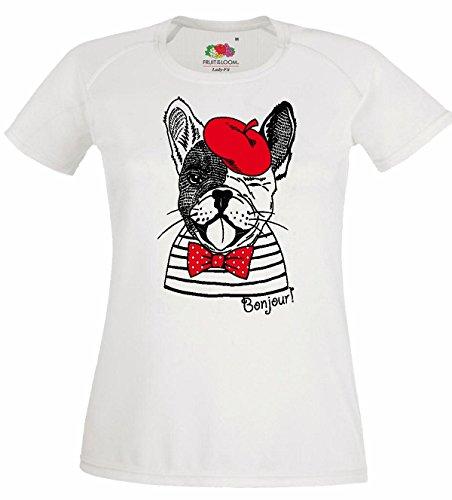 Reifen-Markt Damen T-Shirt Motiv-300063 Größe M Farbe Weiss Druck