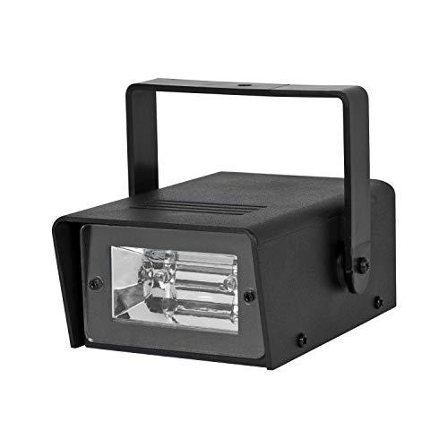 Global Gizmos Mini luz estroboscópica LED funciona con