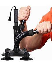 DYJD Arm Wrestling Trainer Pols Muscle Developer Pols Exerciser voor Arm En Hand Spiersterkte Worstelen Training, Zwart, Zwaar