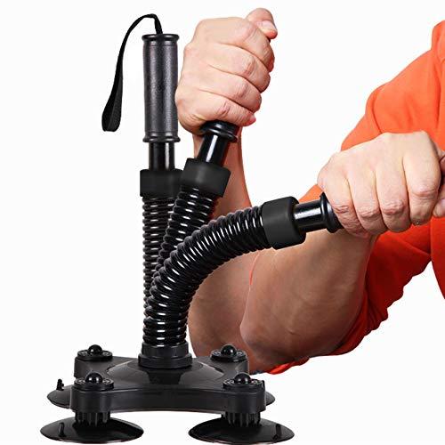 HXSD Dispositivo de Entrenamiento de Fuerza de la muñeca, Mano de Agarre de Mano Profesional Entrenamiento de la Fuerza Muñeca Músculo Poder Muscular, Muñeca Rota, Negro