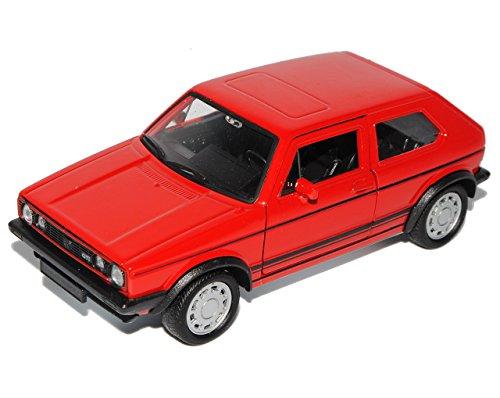 Welly Volkwagen Golf I GTI Rot 3 Türer 1974-1983 ca 1/43 1/36-1/46 Modell Auto