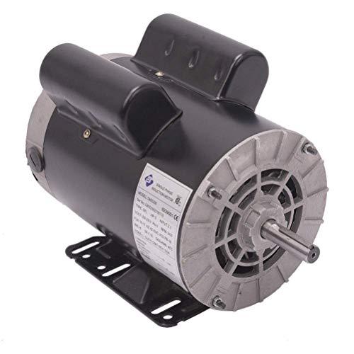 5 HP SPL 3450RPM Single Phase Electric Air Compressor Motor, 56 Frame 5/8' Shaft