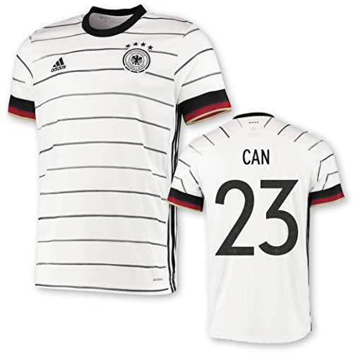 adidas DFB Deutschland Trikot Home EM 2020 Kinder inkl. Original Flock (Can + 23, 152)